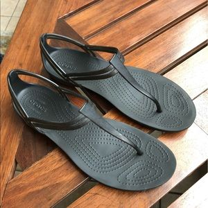 Crocs Isabella t-strap sandal women's